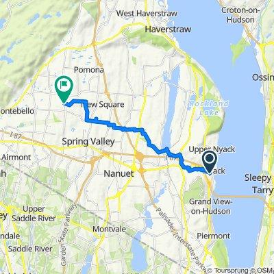 83 S Franklin St, Nyack to 1 Mariner Way, Monsey