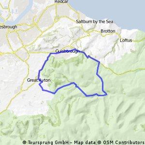 Guisborough to Castleton circuit