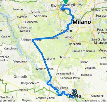 Pavia - Milano