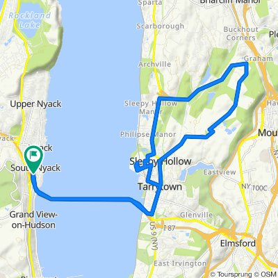 236–280 S Broadway Ave, South Nyack to 236–280 S Broadway Ave, South Nyack