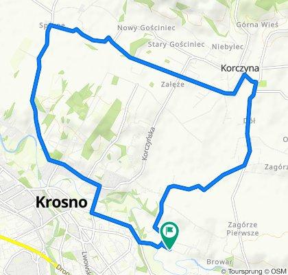 Konstantego Ildefonsa Gałczyńskiego 26, Krosno do Konstantego Ildefonsa Gałczyńskiego 32A, Krosno