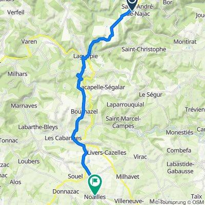 La Fouillade Cycling