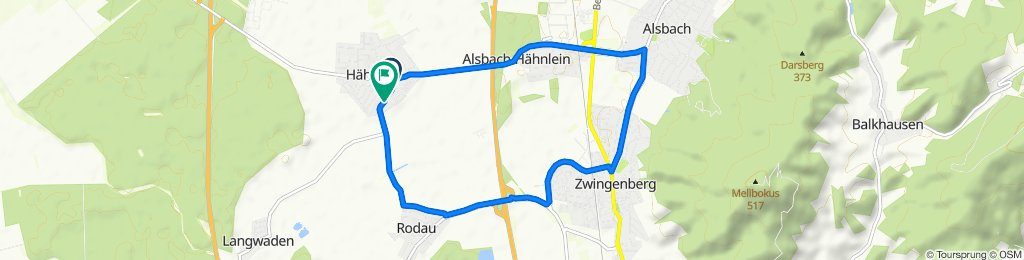 Rodauer Straße 17, Alsbach-Hähnlein nach L3261 50, Alsbach-Hähnlein