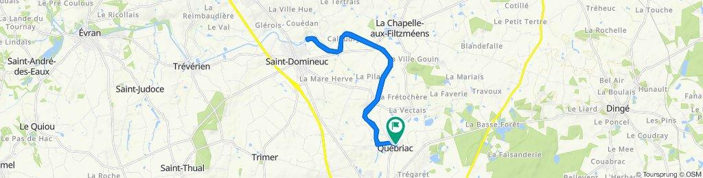 De 2 Rue de la Gromillais, Québriac à 26 Rue de la Liberté, Québriac