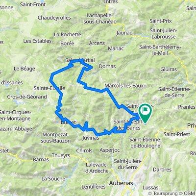 grands cols d'Ardèche