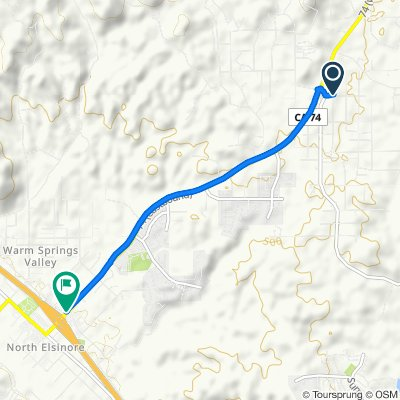 21140 Senola Ave, Perris to 29295 Central Ave, Lake Elsinore
