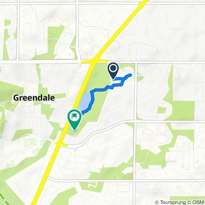 Steady ride in Greendale