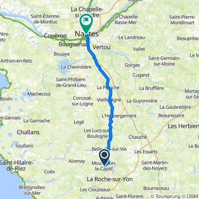 25 Allée des Cerisiers, Mouilleron-le-Captif to 40 Rue de Strasbourg, Nantes