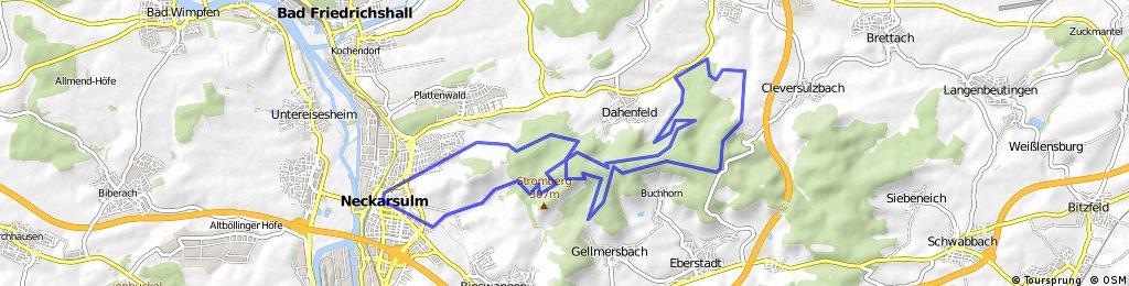 NSU - Paul Gussmann Weg - Cleversulzbach - Salzweg - NSU