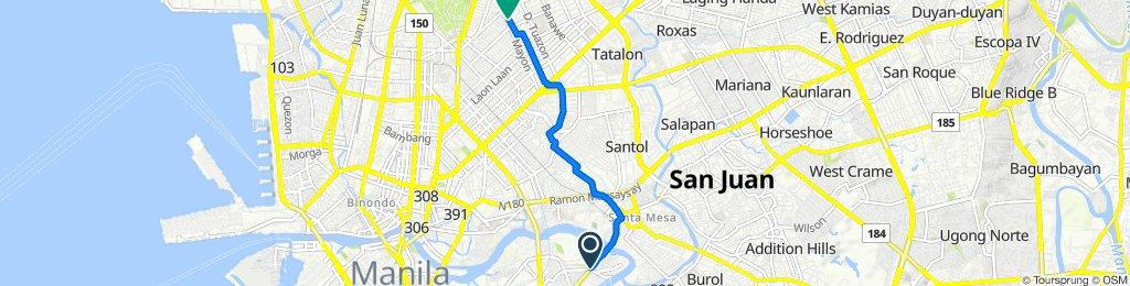 Beata 2759, Manila to Kanlaon Street 143, Quezon City
