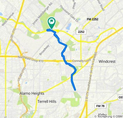 Route to Buckhorn, San Antonio