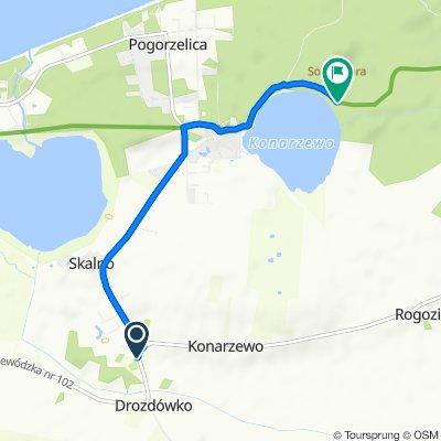Trasa z Konarzewo, Karnice