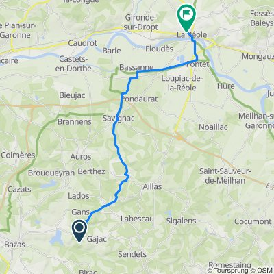 De 5 Cap de Bos, Gajac à 6 Place Chaigne, La Réole