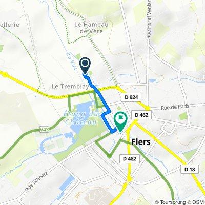 De 5–9 Rue des Peupliers, Saint-Georges-des-Groseillers à 11 Rue Richard Lenoir, Flers