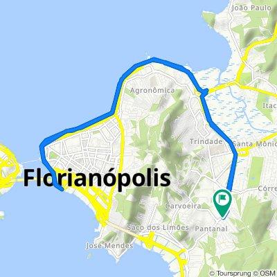 De Rua Maria Eduarda, 57, Florianópolis a Rua Maria Eduarda, 2–280, Florianópolis