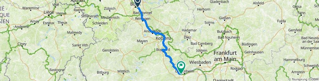 Bonn - Rüdesheim