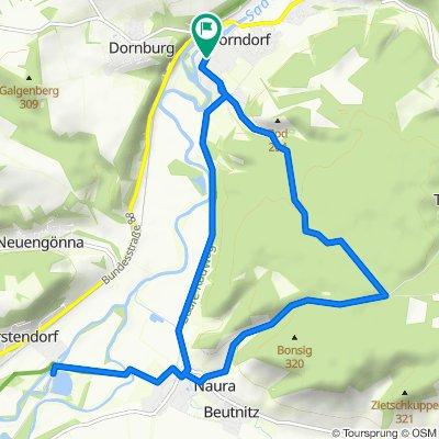 Dorndorf/Saale - Tautenburg - Rabeninsel Porstendorf - Dorndorf/Saale