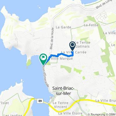 De Chemin de la Souris 2, Saint-Briac-sur-Mer à Impasse du Béchet 2, Saint-Briac-sur-Mer