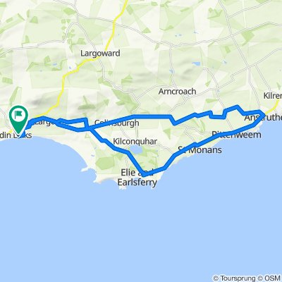 Largo to Anstruther and back
