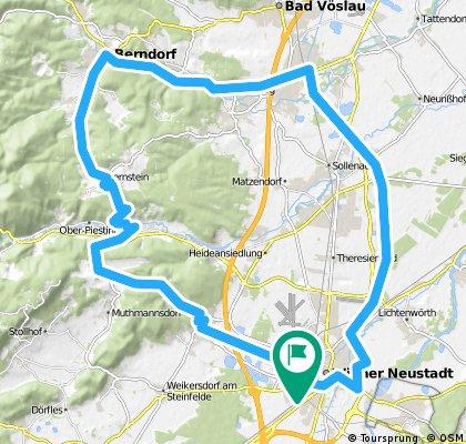 nach Berndorf und zurück