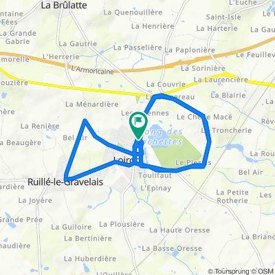 De 9 Rue de l'Étang, Loiron à 7 Rue de l'Étang, Loiron