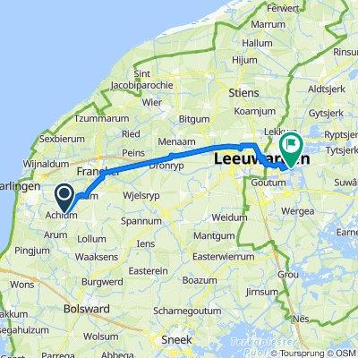 De Hitzumerweg 7, Achlum à Waterbies 49, Leeuwarden