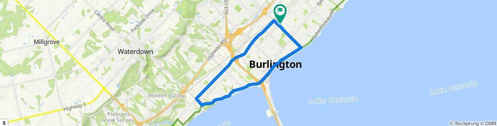 Stress relief route in Burlington