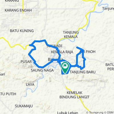 Jalan. Garuda 3, Kecamatan Baturaja Timur to Jalan. Garuda 3, Kecamatan Baturaja Timur
