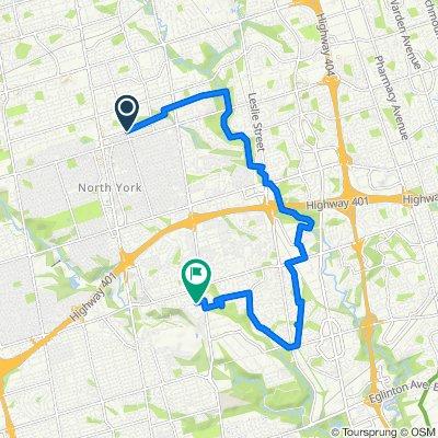 Bishop Avenue 121, Toronto to Highland Crescent 141, Toronto