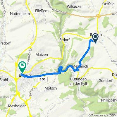 Merzerweg 6, Badem nach Görenweg 14, Bitburg