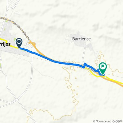 De Avenida de Toledo, 23, Torrijos a TO-4421, Barcience