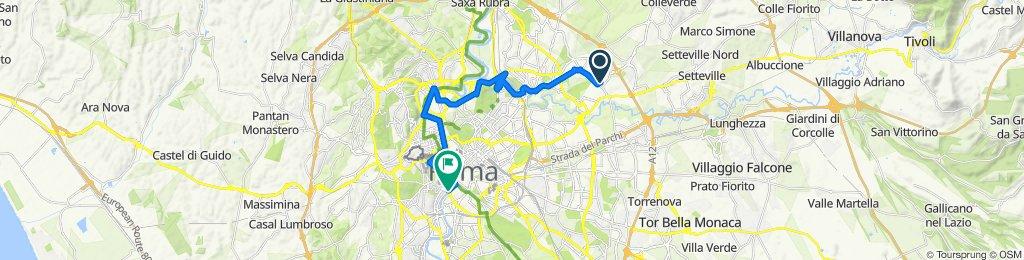 Da Via Filottrano 15, Roma a Porto di Ripa Grande 26, Roma