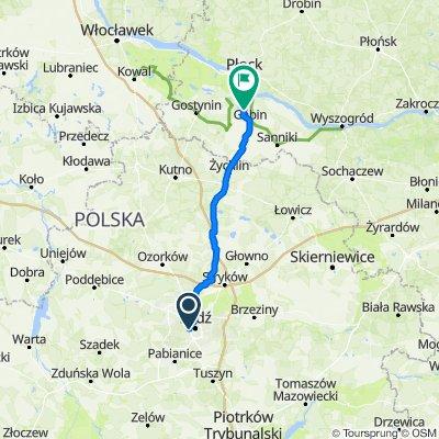 Łódź - Gąbin (Koszelówka)