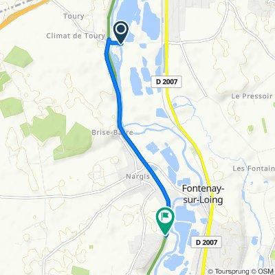 Route to Avenue des Sansonnets, Nargis