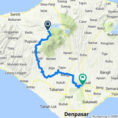 Western route from Tamblingan