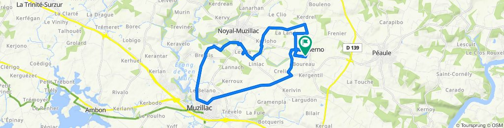 De 5 Route de Rinsquivy, Le Guerno à 5 Route de Rinsquivy, Le Guerno