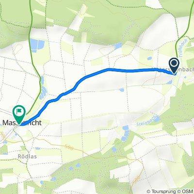 Untersteinbach 2, Hirschau nach AS18 20, Hirschau