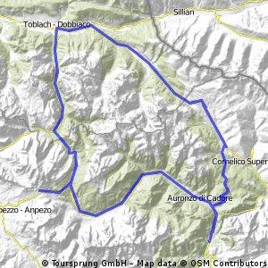 auronzo-s.antonio-montecroce comelico-dobbiaco-misurina