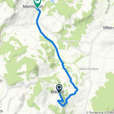 De 8 La Roque, Blauvac à 101 Chemin des Peyrollets, Mormoiron