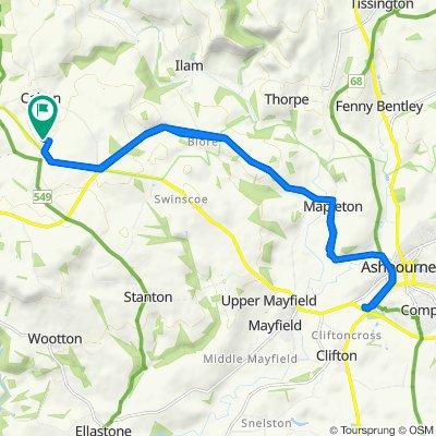 Field House Farm, Common Lane, Stoke-on-Trent to Field House Farm, Common Lane, Stoke-on-Trent