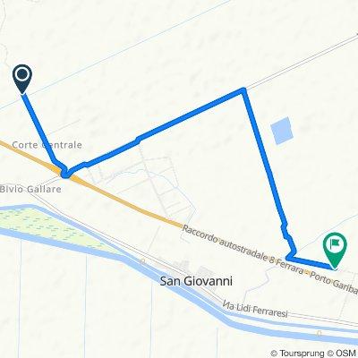 Da Strada Corte Centrale 51–53, Ostellato a Strada di Volania, Ostellato