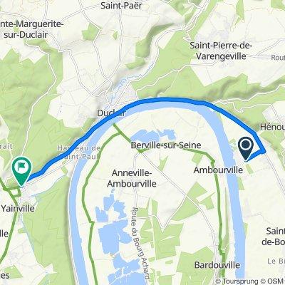 De Chaussée Bertrand, Hénouville à 757 Rue de l'Essart, Yainville