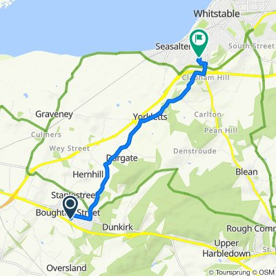 Route to Louise's