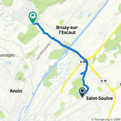 De 87 Rue Henri Barbusse, Saint-Saulve à 47 Rue Michel Brabant, Bruay-sur-l'Escaut