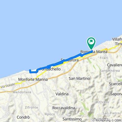 Da Via Mezzasalma, Rometta Marea a Via Mezzasalma 43, Rometta Marea