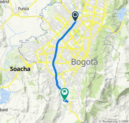 De Calle 71A 7212, Bogotá a Diagonal 77 Sur 14-17, Bogotá