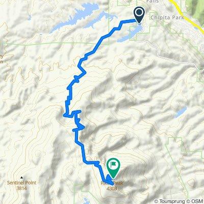 pikes peak - crystal creek start