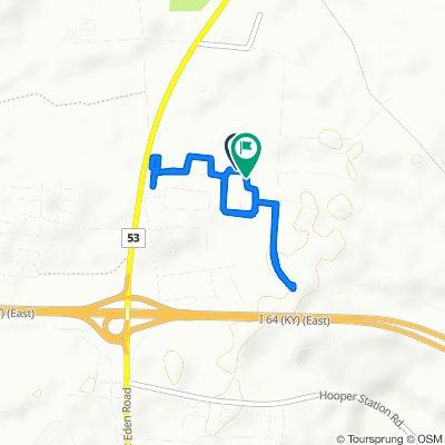 161 Woodfield Cir, Shelbyville to 139 Woodfield Cir, Shelbyville