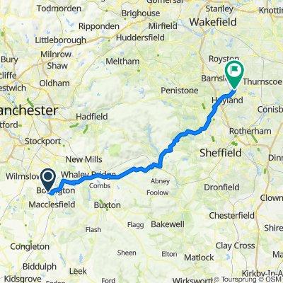 3 Meadow Drive, Macclesfield to 9 Yvonne Grove, Barnsley