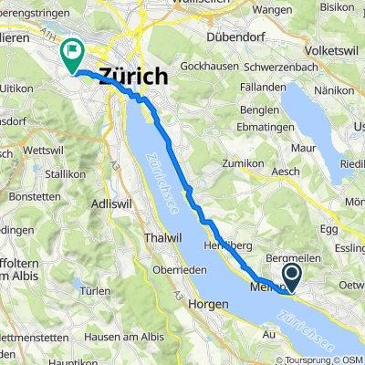 Auf der Grueb 18, Meilen nach Albisriederstrasse 201, Zürich